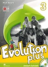 Evolution plus 3. Workbook. Język angielski. Zeszyt ćwiczeń + płyta CD