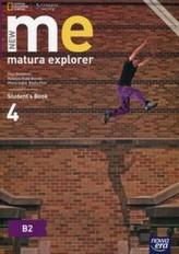 New matura explorer. Szkoły ponadgimnazjalne. Część 4. Język angielski. Podręcznik. Poziom B2