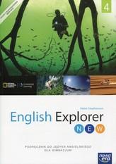 English Explorer New 4. Gimnazjum. Podręcznik. Język angielski