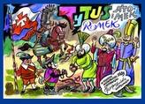 Tytus Romek i A'Tomek w odsieczy wiedeńskiej 1683 roku z wyobraźni Papcia Chmiela narysowani