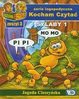 Kocham Czytać Zeszyt 3 Sylaby 1