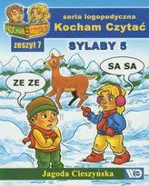 Kocham Czytać Zeszyt 7 Sylaby 5