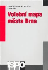 Volební mapa města Brna