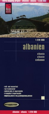 Albanien 1:220 000 Reise Know-How