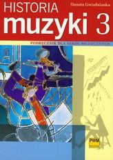 Historia muzyki 3 podręcznik