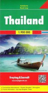 Tajlandia mapa 1:900 000 Freytag & Berndt