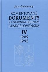 Komentované dokumenty k ústavním dějinám Československa