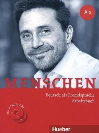 Menschen Deutch als Fremdsprache Arbeitsbuch A2 + CD - Náhled učebnice