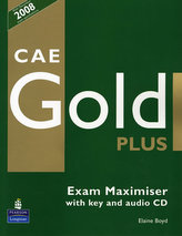 CAE Gold Plus Exam Maximiser with key z płytą CD
