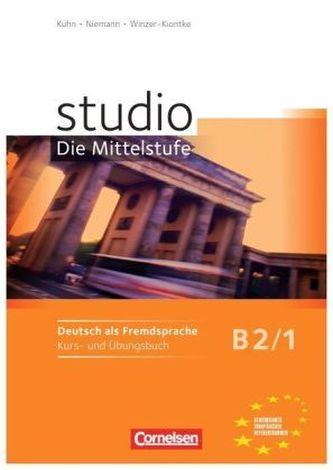 Studio d B2/1, Kurs- und Übungsbuch - Náhled učebnice
