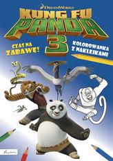 Kung Fu Panda 3. Czas na zabawę! Kolorowanka z naklejkami