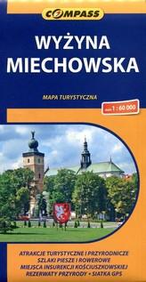 Wyżyna Miechowska mapa 1:60 000 wydanie 2  2014