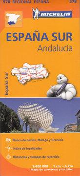 Espana Sur Andalucia 1:400 000