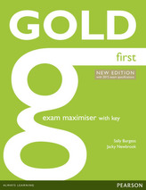 Gold First New Exam Maximiser with key
