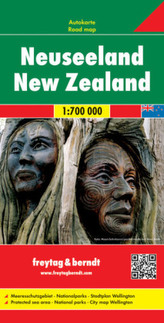 Nowa Zelandia mapa 1:700 000
