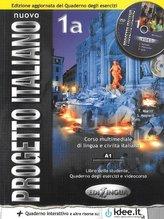 Nuovo Progetto Italiano 1A Podręcznik + ćwiczenia + płyta DVD + płyta CD