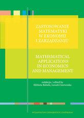 Zastosowanie matematyki w ekonomii i zarządzaniu