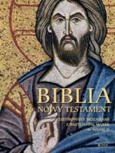 Biblia Nowy Testament. Ilustrowany mozaikami z bazyliki św. Marka w Wenecji