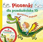 Piosenki dla przedszkolaka (+CD) 10