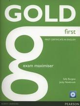 Gold First Exam Maximiser + CD
