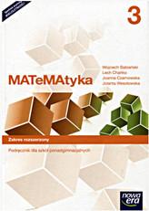 Matematyka 3. Liceum/techn. Podręcznik. Zakres rozszerzony