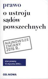 PRAWO O USTROJU SĄDÓW POWSZECHNYCH 01.2016