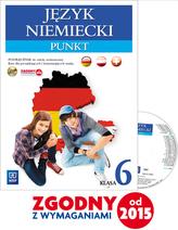 Punkt. Klasa 6 szkoła podstawowa. Język niemiecki. Podręcznik + CD
