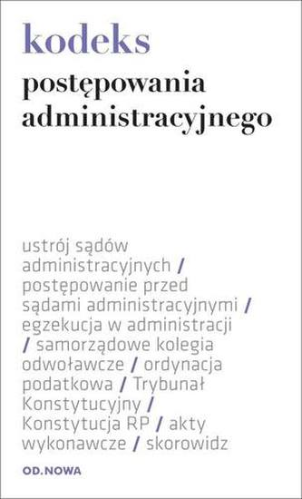 KODEKS POSTĘPOWANIA ADMINISTRACYJNEGO 1.02.2014 FOLIA