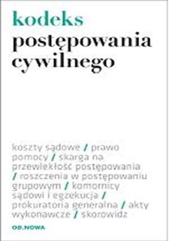 KODEKS POSTĘPOWANIA CYWILNEGO 01.02.2014 FOLIA