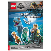 LEGO JURASSIC WORLD. ALARM W DINOPARKU! LSG-6201