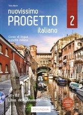 Progetto italiano Nuovissimo 2 podr. + DVD B1-B2