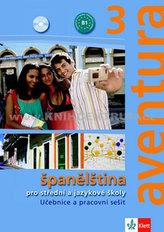 Aventura 3 - Španělština pro SŠ a JŠ- učebnice + PS + 2CD