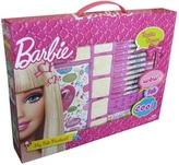 Razítka v krabici Barbie