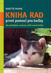 Kniha rad první pomoci pro kočky
