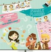 Kalendář 2013 poznámkový plánovací - Girls & Boys, 30 x 60 cm
