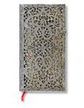 Adresář - Silver Filigree Natural, mini 95x140