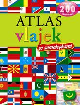 Atlas vlajek se samolepkami - Více než 200 samolepek - 2. vydání