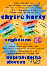 Chytré karty - Angličtina nepravidelná slovesa