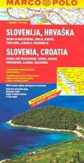Slovinsko/Chorvatsko/mapa 1:800 000 MD