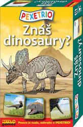 Pexetrio - Znáš dinosaury?