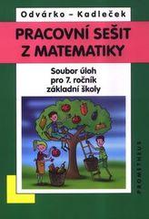 Pracovní sešit z matematiky 7.roč. ZŠ