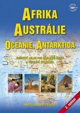 Afrika, Austrálie, Oceánie, Antarktida
