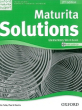 Maturita Solutions Elementary 2nd Ed. Workbook with Audio CD PACK Czech Edition