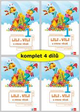Lili a Vili 1 – mezipředmětové pracovní sešity pro 1. ročník ZŠ (I.-IV. díl)
