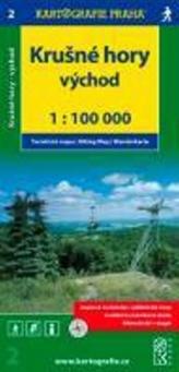 Krušné hory - východ 1:100 000