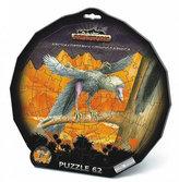 Puzzle 62 deskové - Prehistoric
