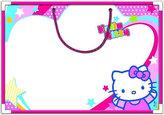 Magnetická tabule - Hello Kitty
