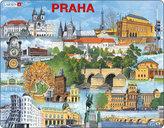Puzzle MAXI - PRAHA  nejzajímavěší atrakce/66 dílků