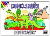 Dinosauři Omalovánky A5