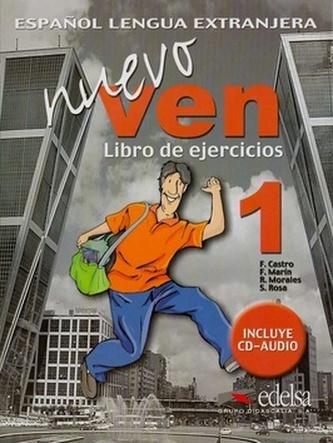 Nuevo ven 1, Libro de ejercicios - Náhled učebnice